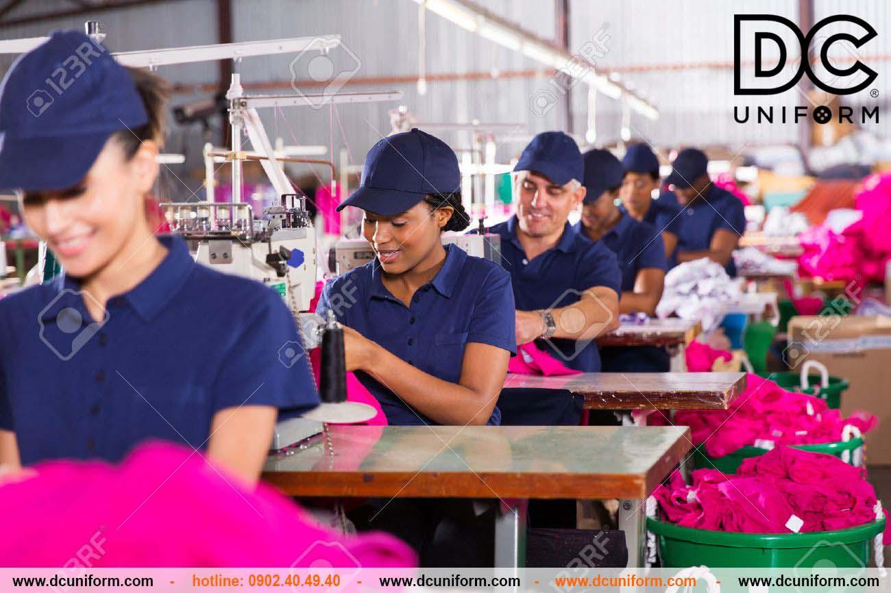 DCUniform - Tiến hành sản xuất đồng phục hàng loạt